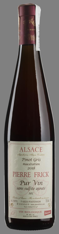 Pinot Gris Maceration Pur Vin 2018
