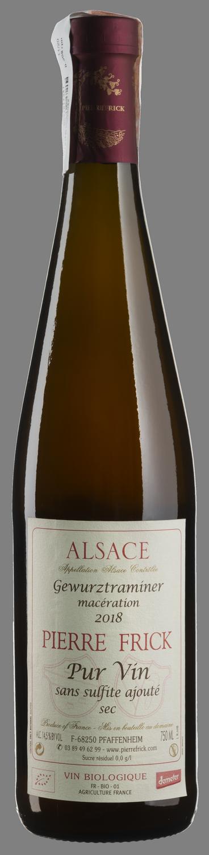 Gewurztraminer Maceration Pur Vin 2018