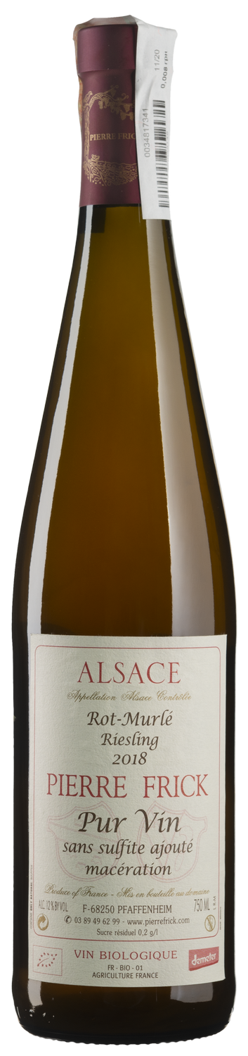 Riesling Rot Murle Maceration Pur Vin 2018